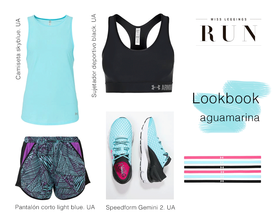 look runner aguamarina
