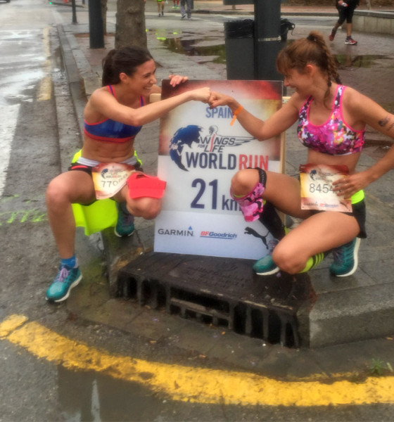 Wings For Life World Run ¡Sprint y llegamos al km 21!