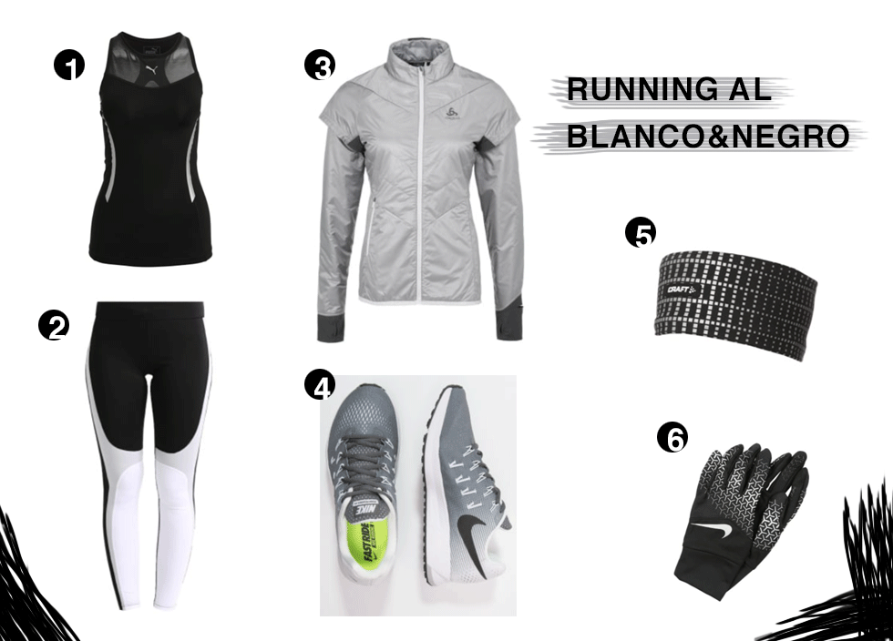 Lookbook runner B&W