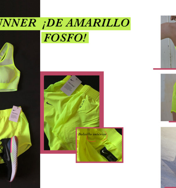 Lookbook runner ¡De amarillo!
